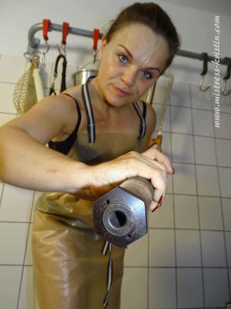 Scheinschlachtung metzgerin Lady Britt